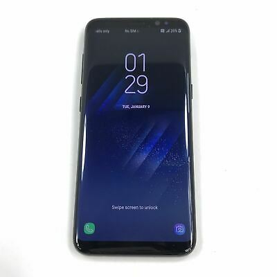 $ CDN294.96 • Buy Samsung Galaxy S8 SM-G950W 64 GB Unlocked Black Android Smartphone