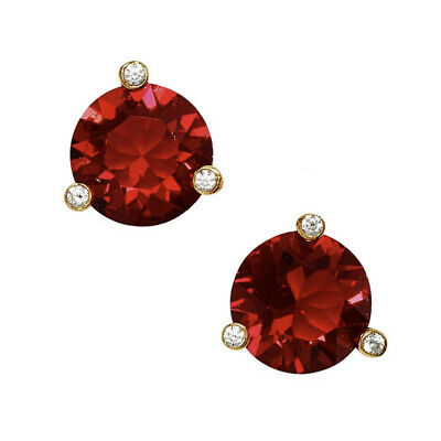 $ CDN39.53 • Buy Nwt Kate Spade Rise And Shine Round Stud Earrings $38 Ruby Red