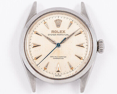$ CDN3948.01 • Buy Excellent Vintage 1950's Rolex Stainless Steel Oyster Perpetual Bubble Back!
