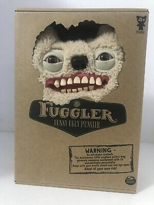 $ CDN38 • Buy FUGGLER NEW Ol Toothblock White Stuffed Animal Funny Ugly Monster Plush