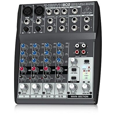 BEHRINGER XENYX 802 Analog Mixer From Japan • 117.16£