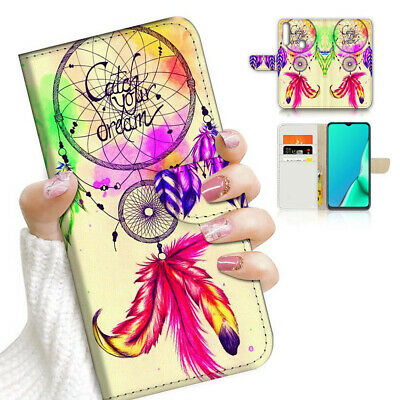 AU12.99 • Buy ( For Vivo Y12 / Y15 / Y17 ) Wallet Case Cover PB23545 Dream Catcher