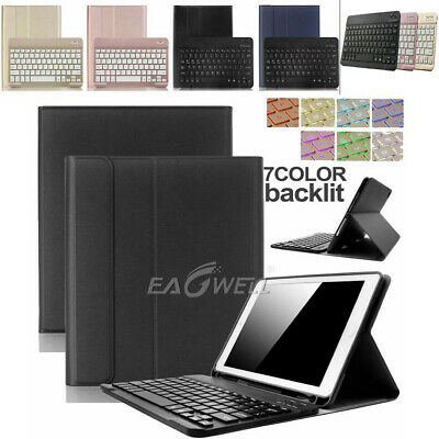 AU35.99 • Buy For IPad Pro 2017 10.5  Removable Bluetooth Keyboard Case Folding Smart Cover AU
