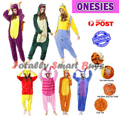 AU26.99 • Buy Onesie Adult Animal Cartoon Cosplay Party Dressup Pyjama Onesies Kigurumi Gift