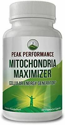 $ CDN49.42 • Buy Mitochondria Maximizer With CoQ10 And Active PQQ. Best Mitochondrial Support Sup