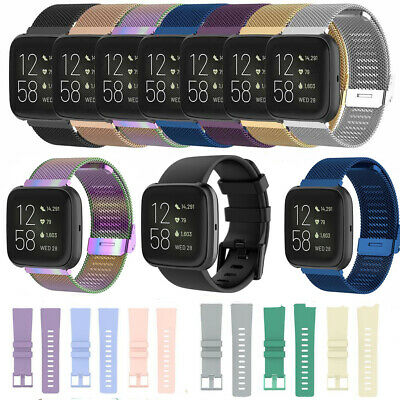 $ CDN11.52 • Buy Wrist Band Bracelet Strap Replacement For Fitbit Versa2/ Versa Lite /Versa Watch