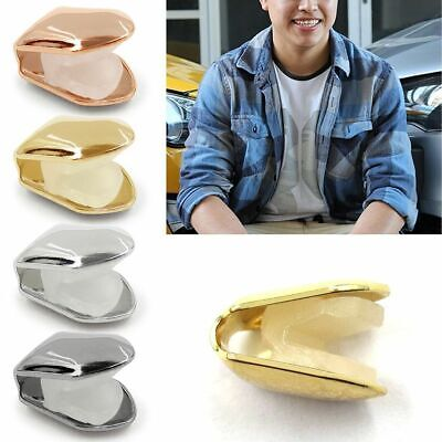 Comfort Custom 14k Gold Plated Small Single Tooth Cap Grillz Hip Hop Teeth Grill • 3.59£
