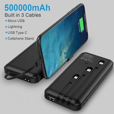 AU19.31 • Buy Portable 300000mAh 2 USB LCD External Power Bank Battery Charger Universal Fast