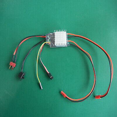 £12.76 • Buy For RC Model Boat 380 550 775 Motor 20Ax2 Dual Way Brushed ESC Speed Controller