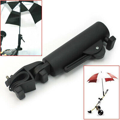 AU11.17 • Buy Adjustable Black Golf Umbrella Holder Stand For Buggy Baby Wheelchair