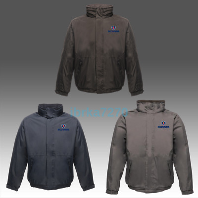 £42.99 • Buy Scania Regatta Zipper Dover Jacket Embroidered Waterproof Coat Unisex Workwear