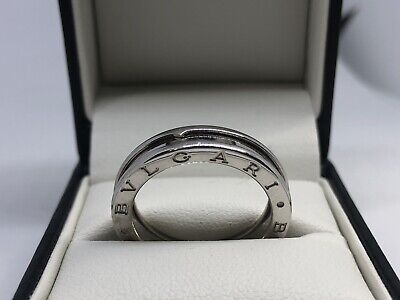 AU1099 • Buy BVLGARI B.ZERO1 One-band Ring 18ct White Gold Size 59 - AUTHENTIC