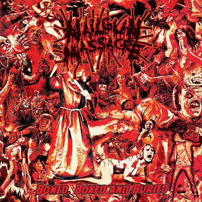 Nailgun Massacre ‎– Boned, Boxed And Buried CD Death Metal • 7.15£