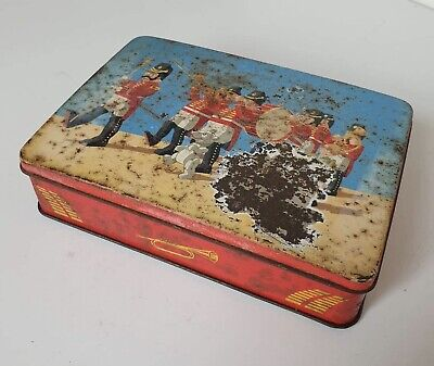 Vintage Sweet Tin / Edward Sharp & Sons / ' Marching Band '  • 1.99£