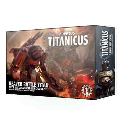 AU71.81 • Buy Adeptus Titanicus - Reaver Battle Titan With Melta Cannon And Chainfist