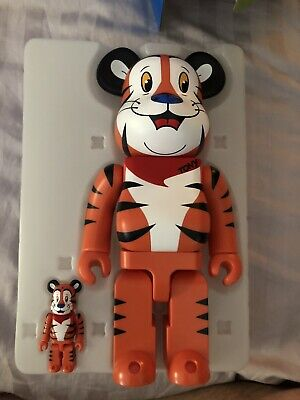 $180 • Buy Medicom Bearbrick Be@rbrick TONY THE TIGER 100% 400% Corn Frosties