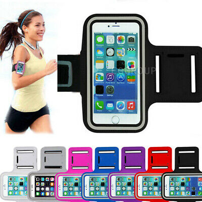 AU14.99 • Buy Sports Armband Cell Phone Holder Arm Band Case Gym Running Pouch Jogging Bag