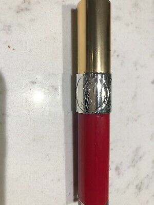 YSL Yves Saint Laurent Lip Gloss Volupte 207 Rouge Velour • 12£