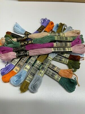 AU12.60 • Buy 12 X BRAND NEW  DMC Stranded Cotton Thread FREE  POST