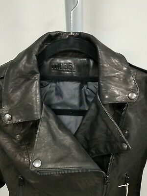 $341.35 • Buy Gorgeous M0851 Traditional Perfecto Black Leather Jacket – Brand New, Size 0