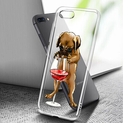 AU8.99 • Buy ( For IPhone 8 Plus ) Art Clear Case Cover C0067 Cute Puppy Dog