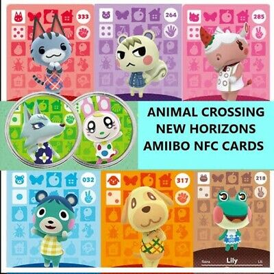 AU10 • Buy NSW IN STOCK! Any Animal Crossing Villager - NFC Amiibo Cards + Free Gift