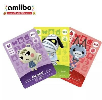 AU5 • Buy NFC CARD SALE: Any ACNH Villager Amiibo - For New Horizons Nintendo Switch