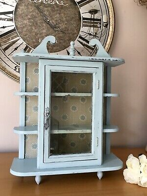 Small French Style Upcycled Curio Display Cabinet Includes Free Delivery! • 80£