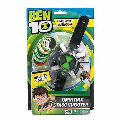 Ben 10 Omnitrix DISC SHOOTER WATCH Action Toy With 5 Discs Playmates Brand New  • 23.65£
