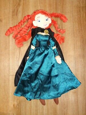 Disney Store 'brave Princess Merida' 20  Doll  Plush Soft Toy, Ex Con • 9.99£
