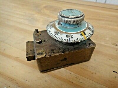 Vintage Yale Safe Enamel Dial Combination Lock Industrial Steampunk To Restore • 10.50£