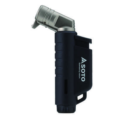 Soto Micro Torch - Horizontal Nozzled Lighter - Black / Blue / Orange • 15.99£