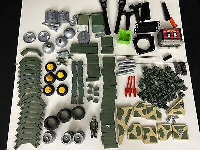 $89.99 • Buy Fisher Price Construx Building Toys Lot 1980s Military Vehicle Parts Army Figure