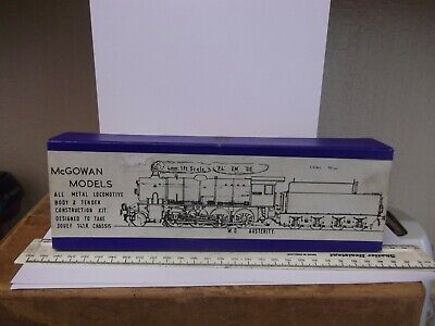 McGOWAN MODELS 00 GAUGE LOCOMOTIVE KIT - L.N.E.R. W.D. AUSTERITY - EXCELLENT • 95£