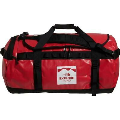New The North Face Base Camp Duffle Bag Luggage Water Resistant L 95L Red Large • 78.87£