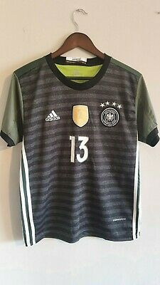 Germany Away Shirt #13 Muller 2015-2016 – S Small Jersey Top – Adidas 15 16  • 4.75£