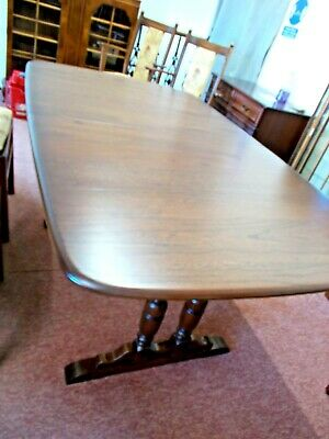 Ercol Dorchester Compact Extending Dining Table- Fruitwood • 675£