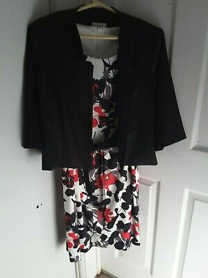 Ladies Nightingales Dress And Jacket, Good Condition, Size 16 • 0.99£