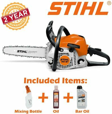 "View Details STIHL MS181 CBE 16"" CHAIN SAW NEW WITH OILS & MIXING BOTTLE FREE! • 299.00£"