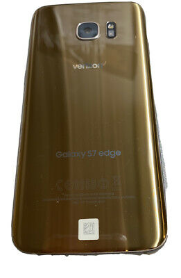 $ CDN199.15 • Buy Samsung Galaxy S7 Edge 32GB - Gold- (Verizon) Smartphone SMG935VVRU4BQG1