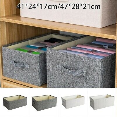 Portable Home Storage Box Underbed Clothing Shoes Organizer Pouch Box Baskets • 13.69£