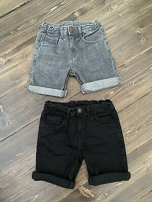 AU10.50 • Buy Zara Boys Denim Shorts Size 6 Like New