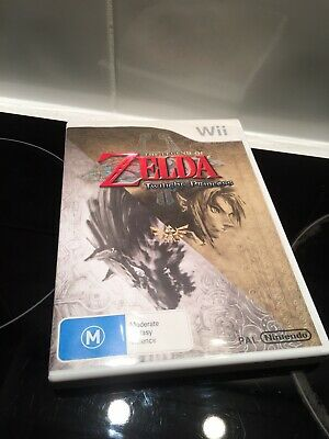 AU19.95 • Buy The Legend Of Zelda Twilight Princess Nintendo Wii Complete With Booklet