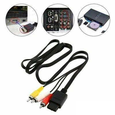 AU10.69 • Buy Replacement AV RCA Audio Video Cable TV Lead For NINTENDO SNES N64 Console