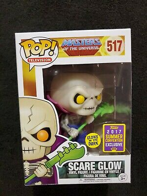 $100 • Buy Funko Pop! Scare Glow (Gitd) SDCC Shared Exclusive Masters Of The Universe #517