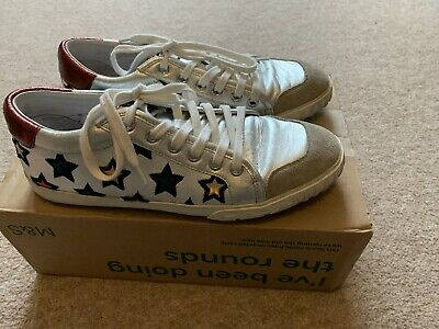Ash Majestic Silver Star Trainers UK 7 EU 40 Hush Barely Worn • 55£