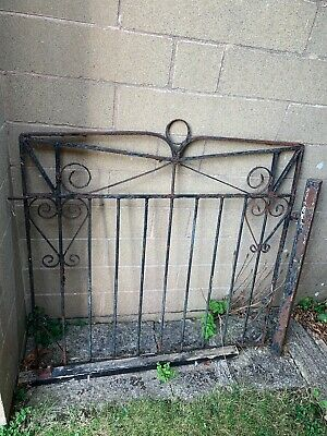 Small Black Garden Gate With Posts • 9.30£