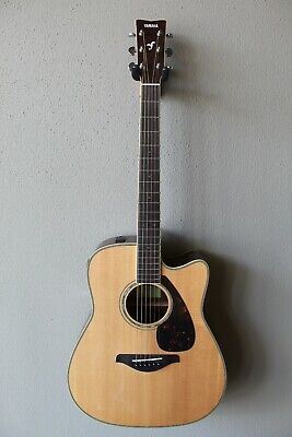 Brand New Yamaha FGX830C Dreadnought Acoustic/Electric Guitar With Gig Bag • 383.83£
