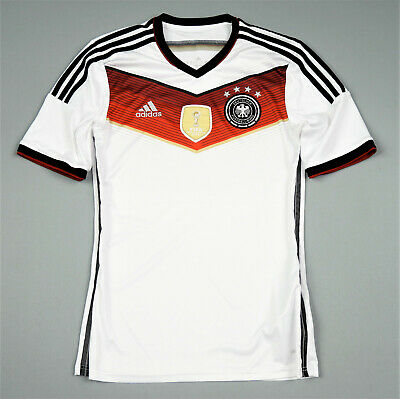 Germany Adidas Jersey Home Shirt 2014-15 Size S • 8.99£