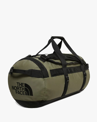 The North Face Base Camp Duffel Bag M - Burnt Olive Green / TNF Black • 110£